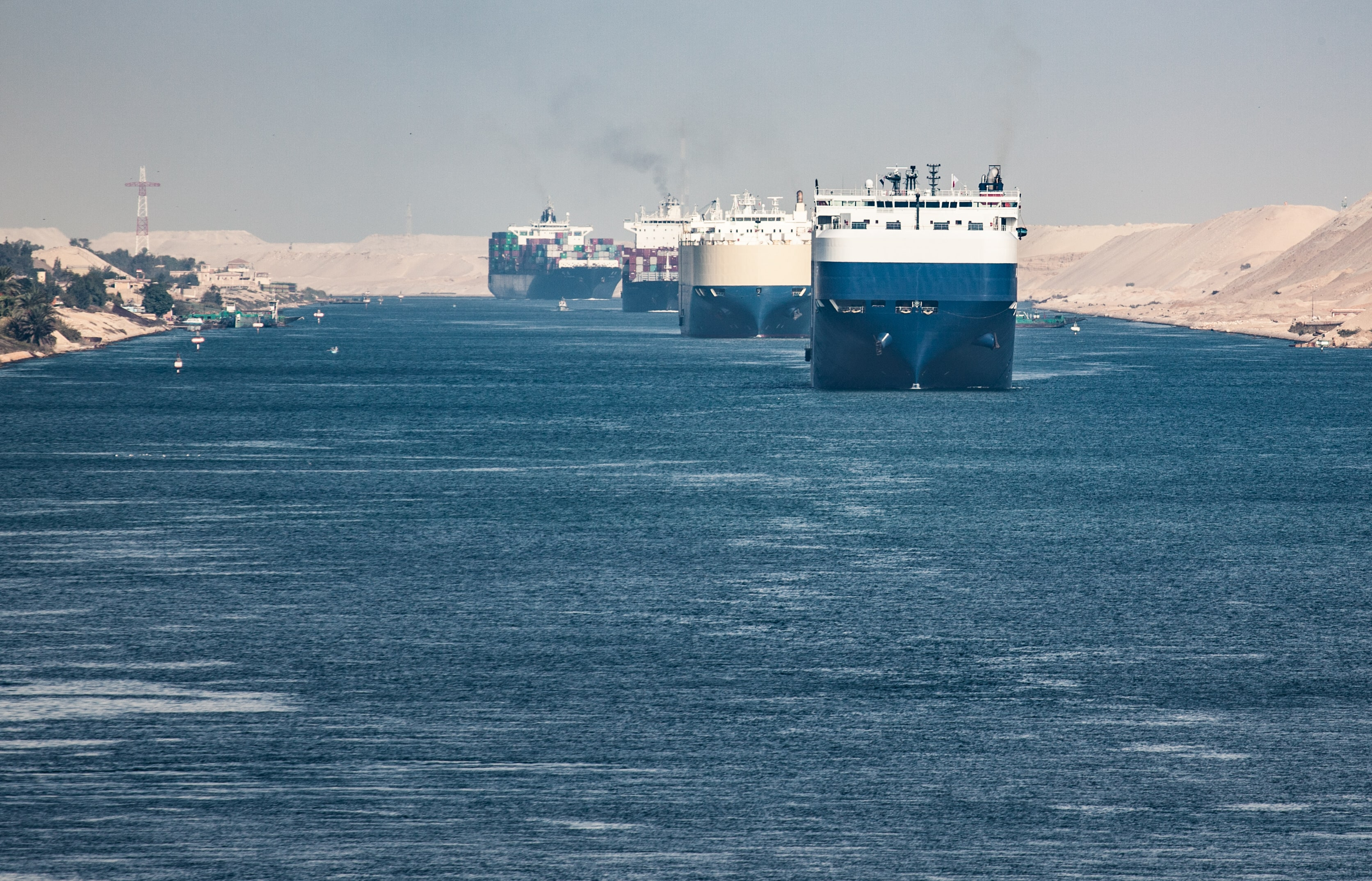 How the Suez Canal Is the Backbone of the Shipping Industry